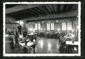 AK Bruxelles, Club du Moulin, 16, Grand`Place, Innenansicht