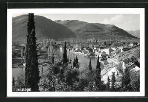 AK Trebinje, Ortsansicht aus der Ferne
