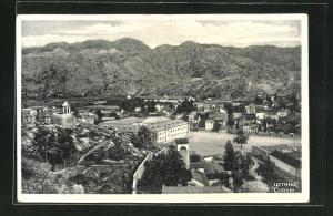 AK Cetinje / Cettigne, Ortsansicht aus der Vogelschau