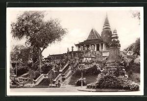 AK Phnom-Penh, Le Pnom à l`escalier