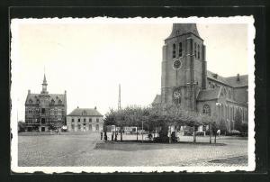 AK Retie, Platz vor der Kirche