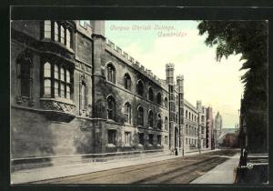 AK Cambridge, Corpus Christi College