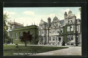 AK Oxford, Trinity College, the Chapel and President`s House