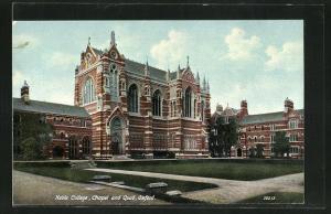 AK Oxford, Keble College, Chapel and Quad