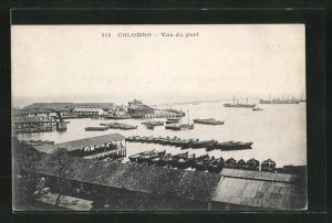 AK Colombo, Vue du port