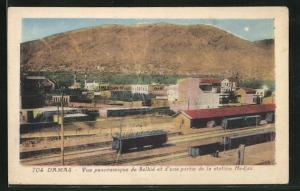 AK Damas, Vue panoramique de Salhie et d'une partie de la station Hedjaz
