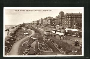AK Blackpool North Shore Promenade Gardens