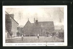 AK Sherborne, St. Anthonys Convent Schoo, Tennis Lawn