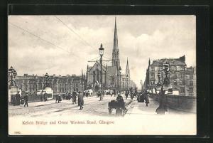AK Glasgow, Kelvin Bridge and Great Western Road