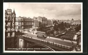 AK Aberdeen, Union Bridge and Union Terrae Gardens