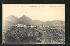 AK Fort-de-France, Balata, Camp militaire