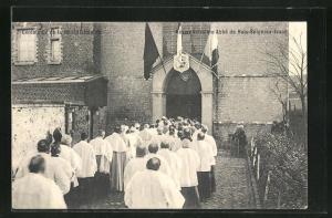 AK Bois-Seigneur-Isaac, Ceremonie de la Benediction du Reservendissime Abbe