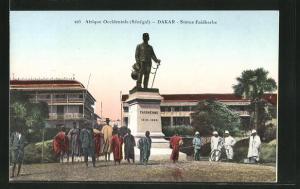 AK Dakar, Statue Faidherbe