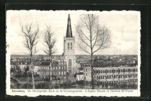 AK Alsemberg, De Hertogelijke Kerk en St. Victorsgesticht