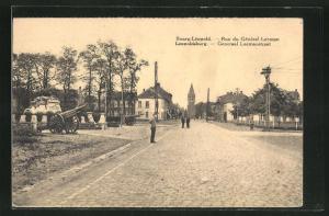 AK Leopoldsburg / Bourg-Leopold, Rue du General Leemann