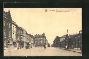 AK Hasselt, Avenue Bamps et place de la Station