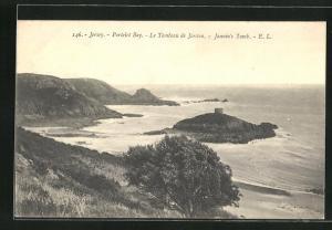 AK Jersey, Portelet Bay, le Tombeau de Janvin