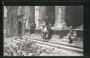 AK Assisi, Tempio Minerva, I colombi