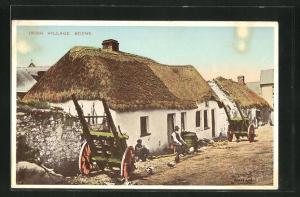 AK Irland, Irish Village Scene