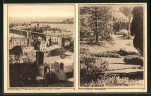 AK Guernsey, the Harbour St. Peter Port, the Candie Gardens