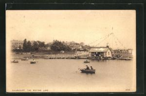 AK Dovercourt, The Boating Lake