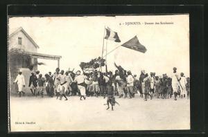 AK Djibouti, Danses des Soudanais