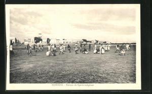 AK Djibouti, Terrain de Sports indigene