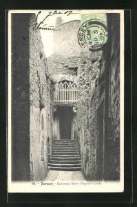 AK Jersey, Entrance Mont Orgueil Castle