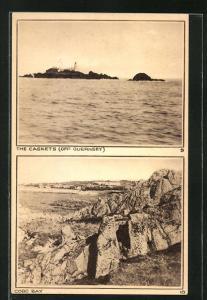 AK Guernsey, The Caskets, Cobo Bay