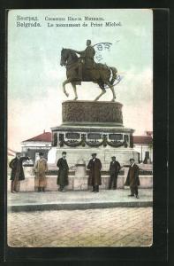 AK Belgrade, Le munument de Princ Michel