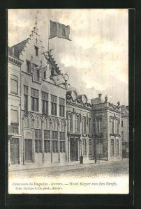 AK Anvers, Hotel Mayer-van den Bergh