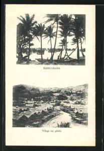 AK Hanuabada, Village sur pilotis