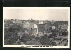 AK Sydney, War Memorial and Hyde Park
