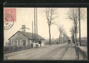 AK Rosny-sous-Bois, Le Lavoir et Route de Villemomble