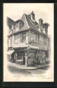 AK Louviers, Vieilles Maisons, Rue du Neubourg