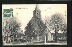 AK St-Martin-d`Ordon, L`Eglise