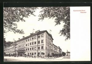 AK München, Ottostrasse Ecke Max-Joseph-Strasse, Continental-Hotel