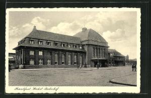 AK Frankfurt-Höchst, Bahnhof