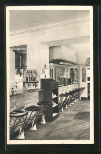 AK Berlin-Charlottenburg, Roberts American Restaurant, Innenansicht, Kurfürstendamm Ecke Fasanenstrasse