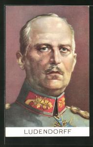 AK Erich Ludendorff in Uniform