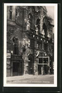 AK Wien, Februaraufstand 1934, Plaza und Arbeiterheim Ottakring