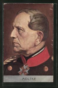 AK Porträt General Moltkes