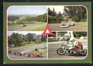 AK Schleiz, Internationale Auto- und Motorradrennstrecke, Formelwagen, Tourenwagen, Motorräder