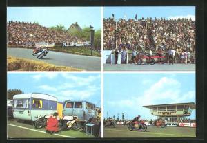 AK Hohenstein-Ernstthal, Sachsenring-Rennen, Grosser Preis der DDR, Meisterschaftslauf für Motorräder, Fahrerlager