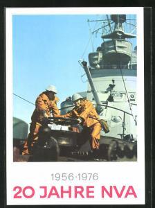 AK 20 Jahre NVA 1956-1976, Arbeit auf einem Kriegsschiff