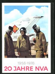 AK 20 Jahre NVA 1956-1976, Kampfflieger unterhalten sich