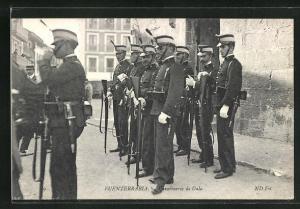 AK Fuenterrabia, Carabineros de Gala, Grenz-Polizei