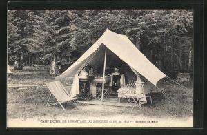 AK Prelenfrey, Camp Hotel de l`Ermitage du Banchet, Zelt