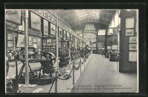 AK Tervueren, Ausstellung / Exposition Coloniale, Section de l`Association des Planteurs de caoutchouc