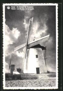AK Ronse, De Molens der Kruissens, Windmühle